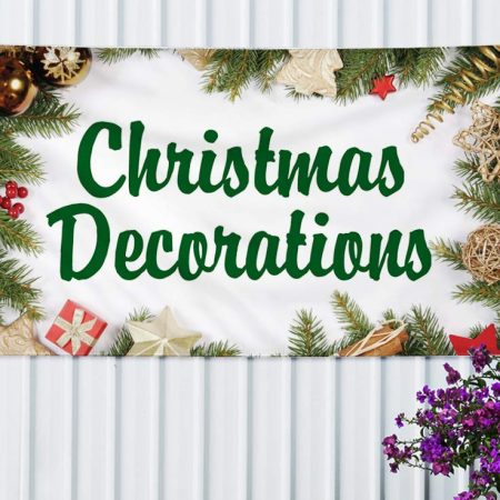 How Christmas Vinyl Banners Can Benefit Your Small Business