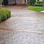 stamped concrete colors and patterns