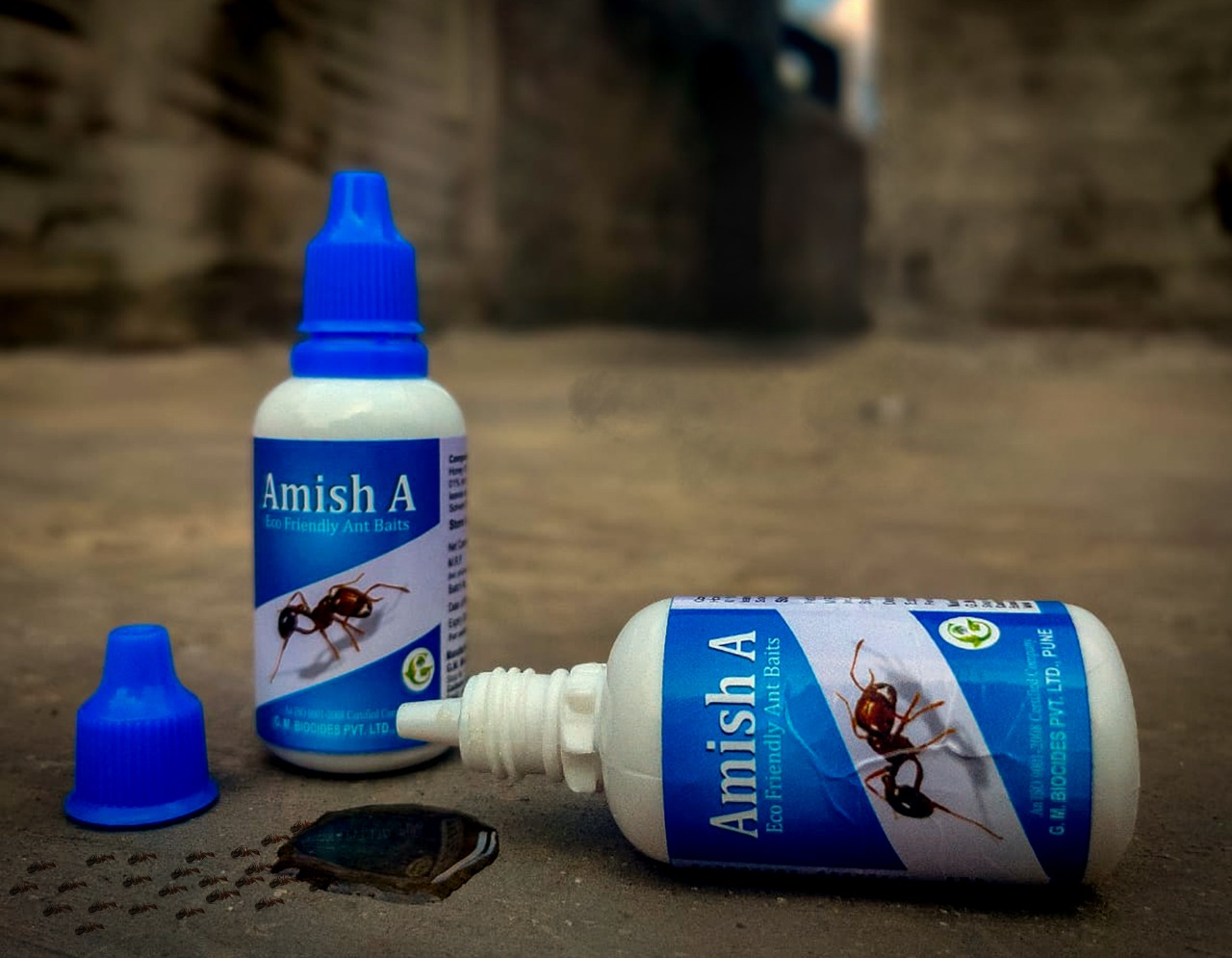 Taking Ant Bait Gel on a Picnic