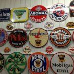 original vintage porclain signs
